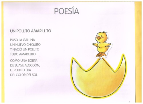 Alegres Imágenes Con Poemas Hermosos Y Cortos Para Niños