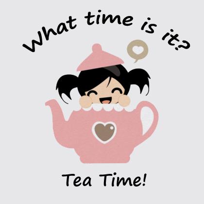 Tea Time Girl 2