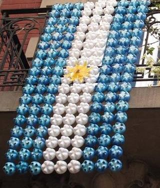 decoracion-bandera-argentina-botellas