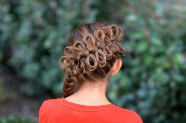 peinados-para-niñas-trenza-anudada