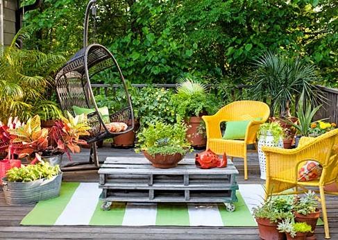 decoracion-de-jardines-pequeños-exteriores-patios