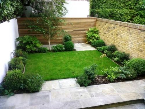 Im genes y decoracion de jardines peque os y verticales Jardines verticales para patios pequenos