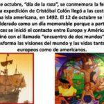 Imágenes conmemorativas del Día de la Raza, 12 de octubre