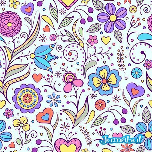 fondos-florales-vectores-coloridos