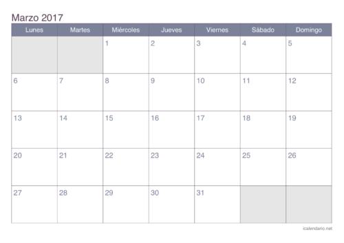 calendario-marzo-2017-office