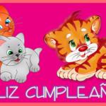 Imágenes con felicitaciones, movimiento y brillo de Felíz Cumpleaños