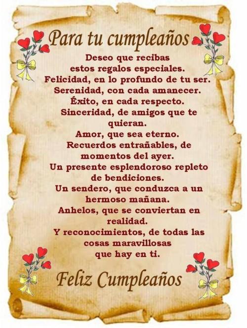Imagenes De Cumpleanos Con Mensajes Frases Y Felicitaciones