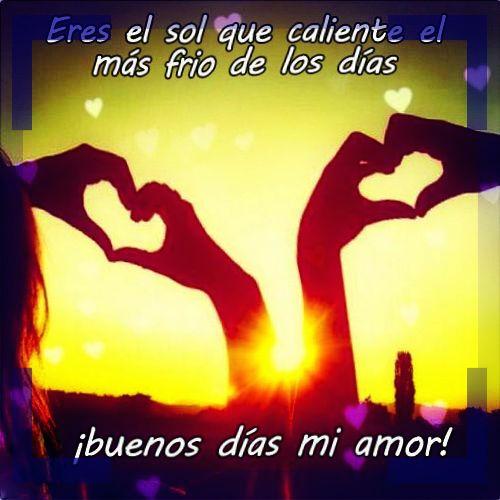 Imagenes De Buenos Dias Con Frases Romanticas