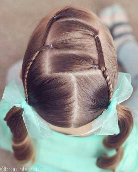 Peinados De Nina Faciles De Hacer 50 Imagenes Y Pasos