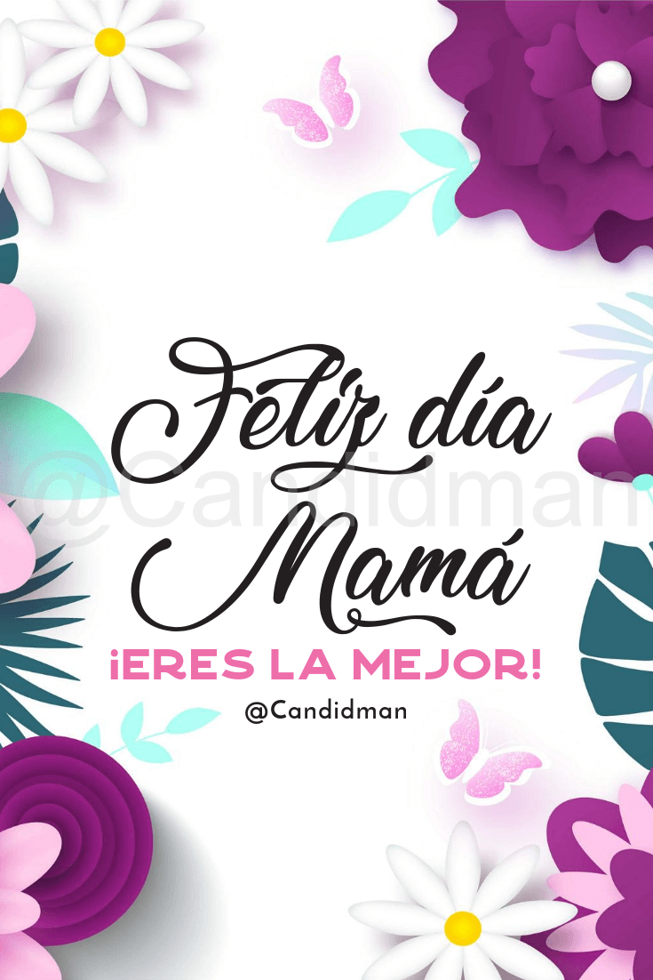 Feliz Día De La Madre Imágenes Y Frases Bonitas Para