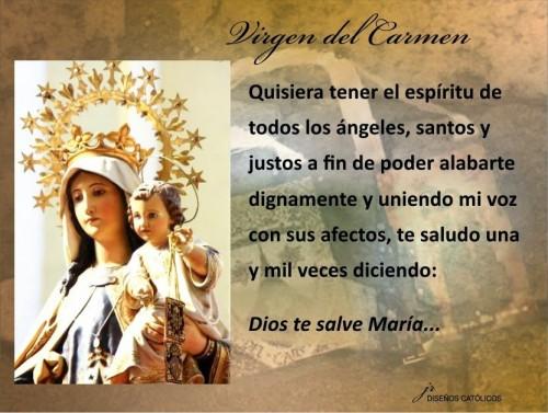 Feliz Día De La Virgen Del Carmen Patrona De La Armada